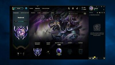 League of Legends Account | EUW | Diamond II