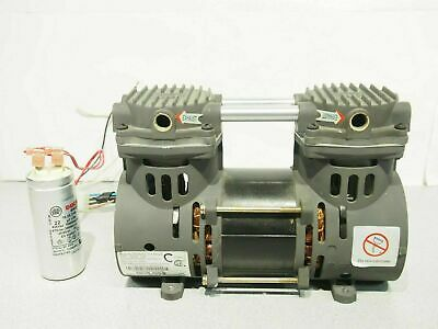 DeVILBISS ZW280D2-75/1.4 Air Vacuum Compressor Pump 14-22 In Hg 40-60 Psi