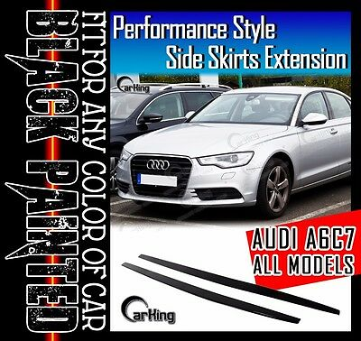 CARKING Fit 14-16 Lexus IS JDM Style Side Skirts EXTENSION SPOILER PRIMED FRP