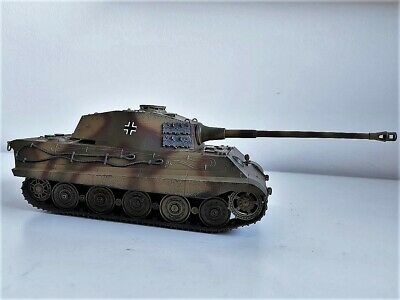 Built 1/35 Award Winner German Ss Div Konigstiger,Super Recommended For Collect