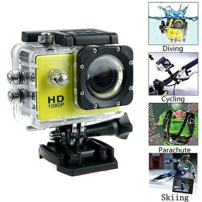 4k Full HD Sports Action Camera Waterproof Diving DVR Go Pro-Cams New Camco J7O1