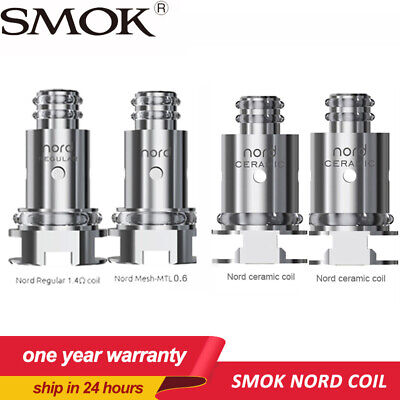 5pcs SMOK Nord Coil with Regular 1.4ohm Coil and 0.6ohm Mesh Coil for SMOK