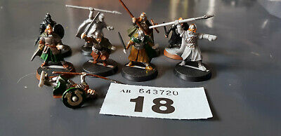 warhammer lord of the rings multi listing 20 warriors of rohan figures