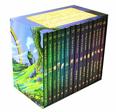 The Wizard of Oz 15 Book Box Set Collection NEW