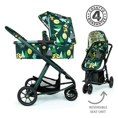 Cosatto Giggle 3 Pram & Pushchair (Into The Wild) - Suitable From Birth