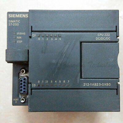 Used Siemens 6ES7212 CPU module 6ES7 212-1AB23-0XB0 Tested It In Good Condition