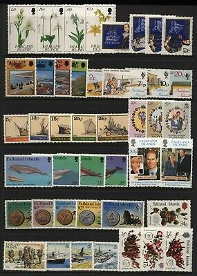 Falkland Islands Collection Commemorative Sets Unmounted Mint