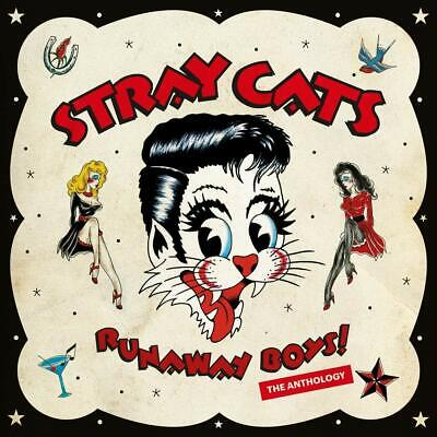 Stray Cats - Runaway Boys: The Anthology (NEW 2 x CD) Preorder 27th September