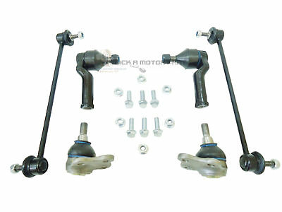 Volvo S60 S80 V60 Front 2 Ball Joints + 2 Links + 2 Outer Track Rod Ends