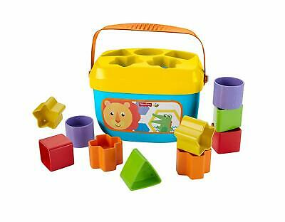 NEW Fisher-Price Brilliant Basics Baby's First Blocks Free shipping