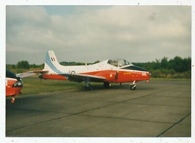Photo Avion Aviation Militaire Jet Provost Tsa R.a.f.college Xw374 Base Cranwell