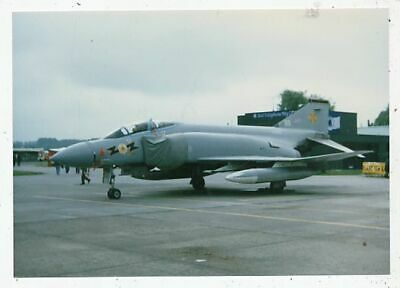 Photo Avion Aviation Militaire Phantom F6 Mk1 Squadron Bb Xv583 Base Leuchars