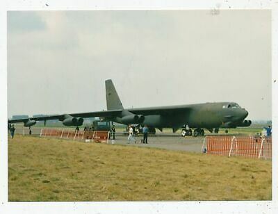 Photo Avion Aviation Militaire B-526 Stratofortress 596 Bomb.squadron 80177 Base