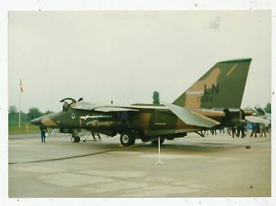 Photo Avion Aviation Militaire F-111F 48 Tfw Ln 71884 Base Lakenheath