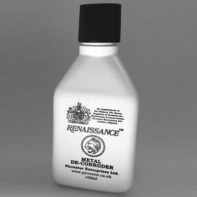 COINS & METALS CLEANER RENAISSANCE METAL DE CORRODER LIQUID 100ml