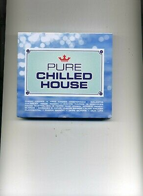 Pure Chilled House - Dua Lipa Rudimental Jess Glynne Coldplay - 3 Cds - New!!
