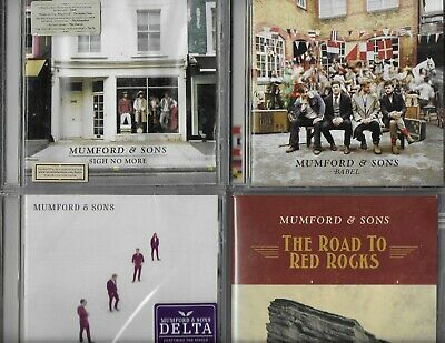 Mumford & Sons 3 Great Cds 1 Dvd Sigh No More Babel Delta The Road To Red Rocks