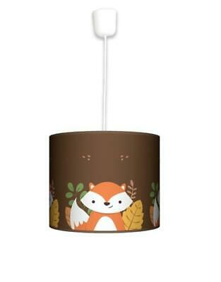 Ceiling Lampshade Lightshade/Chandeliers Cylinder Drum 30cm + Light Cable FOX