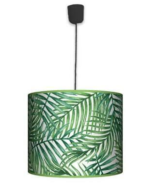 Ceiling Lampshade Lightshade/Chandeliers Cylinder Drum 40cm + Light Cable PALM