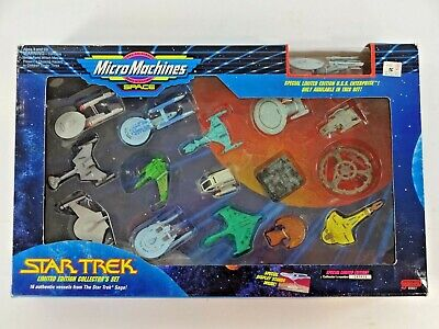 Vintage Galoob 1993 Micro Machines Star Trek Limited Edition Collector's Set Au1