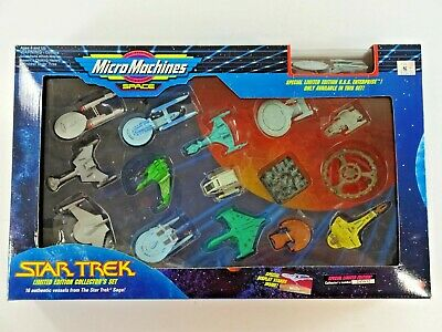 Vintage Galoob 1993 Micro Machines Star Trek Limited Edition Collector's Set Au2