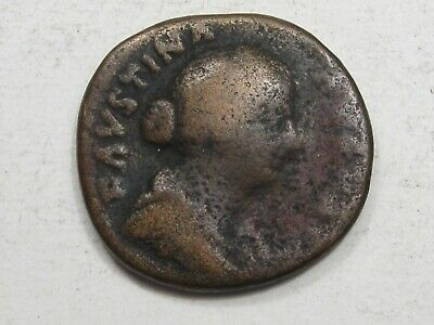 Faustina II AE AD 147-175 Wife of Marcus Aurelius. 24mm.  #75