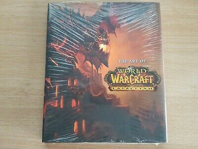 The Art of World of Warcraft Cataclysm Hardcover 2010 New and Sealed