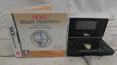 NINTENDO DS Lite Handheld Console Boxed Bundle With 1 Game BRAIN TRAINING - SA8