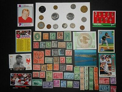 JUNK DRAWER LOT....OLD U.S.A.Coins, 1943-P Jefferson Nickel, 1887 Cent, BANKNOTE