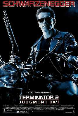 V637 Terminator 2 Judgment-Day Classic Hot Movie Art Fabric Poster 8x12 24x36in