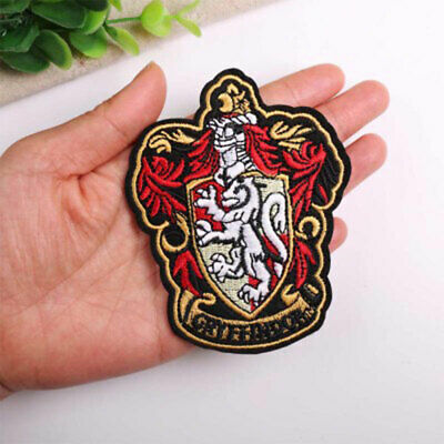 """Hermione Patch Embroidered Iron On Applique Apx 4.10/"""" X 3.90/"""" Harry Potter"""