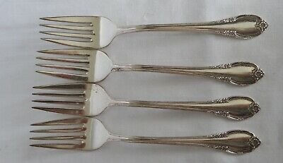 Remembrance by 1847 Rogers Plate Silverplate Salad Fork 6 3//4/""