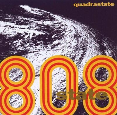 808 State - Quadrastate - 808 State CD CUVG The Cheap Fast Free Post The Cheap