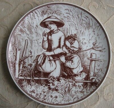 GOEBEL W Germany COLLECTOR PLATE The FOUR SEASONS SUMMER Ludwig Richter