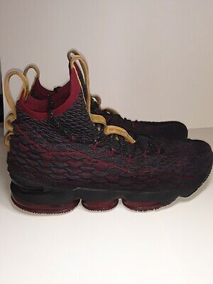 newest fc518 95263 NIKE LEBRON 15 XV New Heights Atomic Teal Black Red 897648-300 Men's Size 11