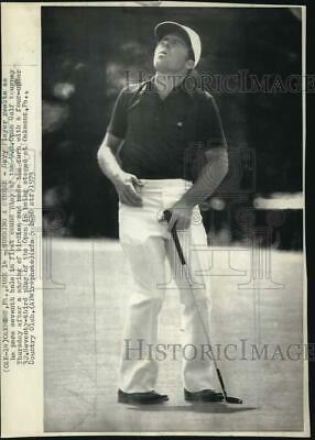 1973 Press Photo Golfer Gary Player during the Golf Open in Oakmont Pennsylvania