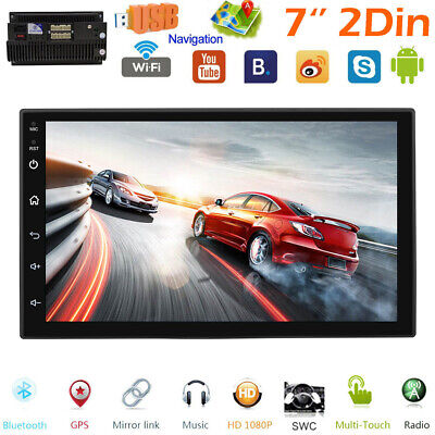 Android 9.1 2+16G Car Radio GPS Navigation 2Din 7'' Touch Screen Stereo Camera