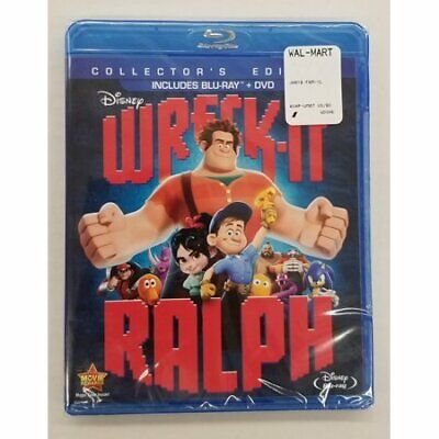 Wreck-It-Ralph - Blu-Ray + DVD - Disney 2 Disc Collector's Edition NEW SEALED