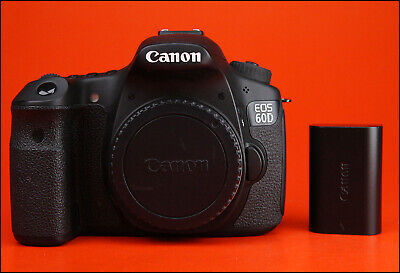 Canon EOS 60D DSLR Camera, Sold With Battery & 7,288 Shots
