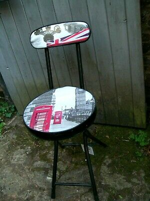 New But Stored/Funky And Fun/Kids Folding Chair/London Scenes