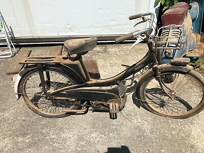 Mobylette motobecane moped spares or repair barn find