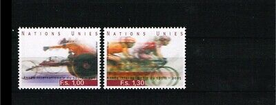 [VZ015_12] 2005 - VN/UNO Geneva MNH Mi. 516-517 - International year of Sport