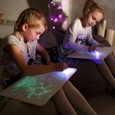 Draw With Light Fun And Developing Toy Drawing Board Magic Draw Educational TU