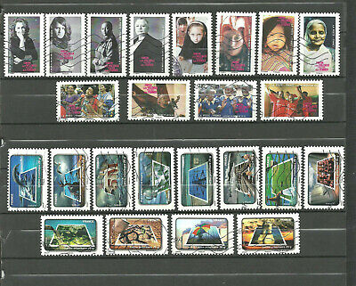 LOT   TIMBRES  DE FRANCE    AUTOADHESIFS 2011 2 serie completes