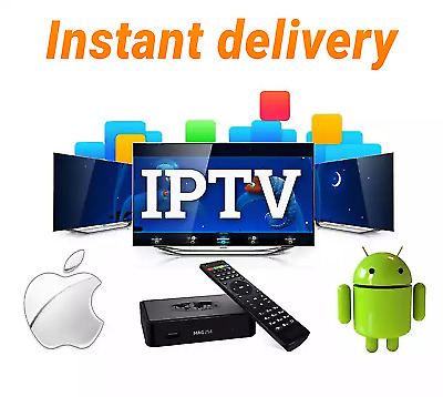 12 Months IPTV subscription 6000 Live channels USA,Latino,Arab,Europe,Sports,VOD