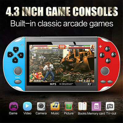 Retro Classic Game Console Handheld Portable 800 Built-in 4.3 Inch Games