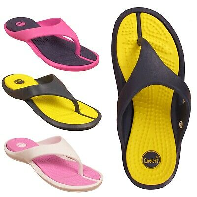 Ladies Womens Flip Flops Girls toe post Sandals surf Shoes Size Uk 3 4 5 6 7 8