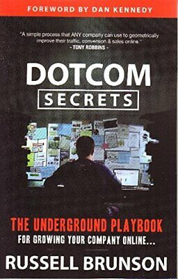 DotComSecrets by Brunson, Russell  New 9781630474775 Fast Free Shipping,,