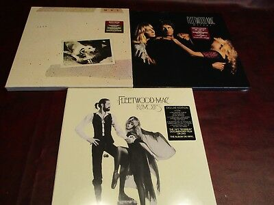 Fleetwood Mac Rumours Mirage Tusk Audiophile Deluxe Edition Cd's Dvd Vinyl Lp's