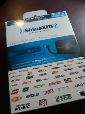 SiriusXM SXV300V1 Connect Vehicle Tuner Kit New!